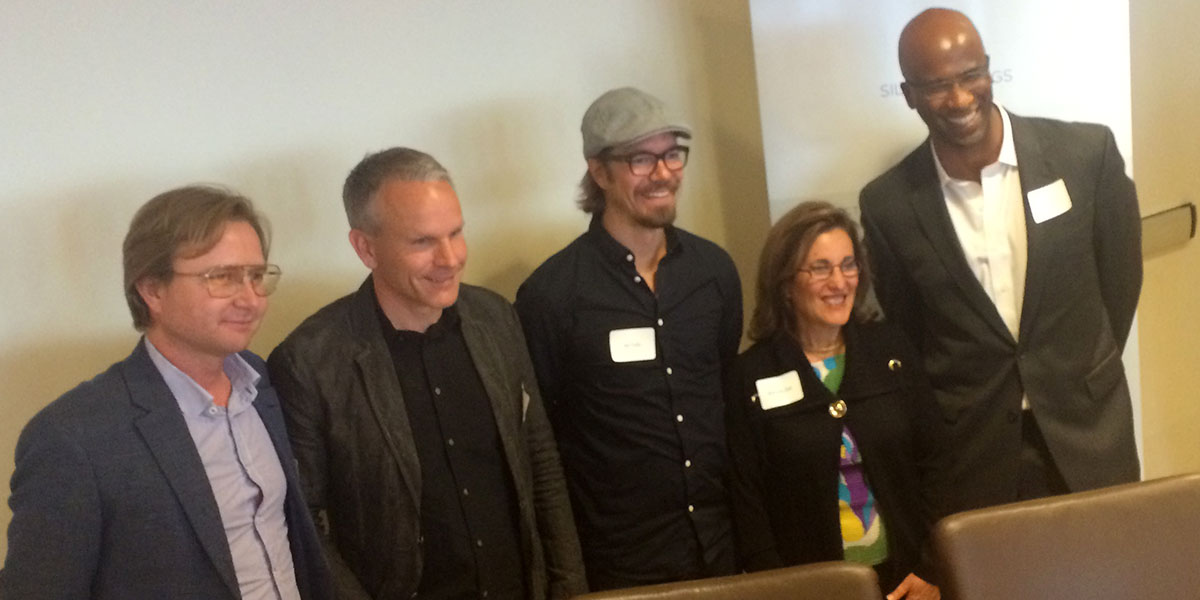 The panel at the Silicon Vikings seminar on Digital Health (photo: Magnus Nilsson)